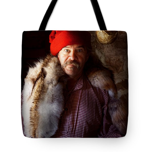 Taxidermist - Jaque The Fur Trader Tote Bag by Mike Savad