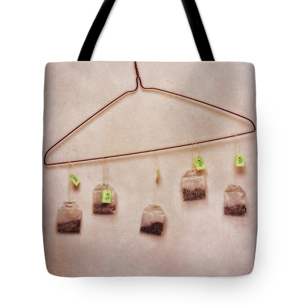 tea bags Tote Bag by Priska Wettstein
