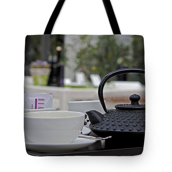 tea time Tote Bag by Joana Kruse