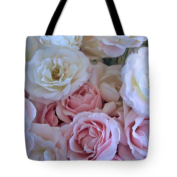 Tea Time Roses Tote Bag by Carol Groenen