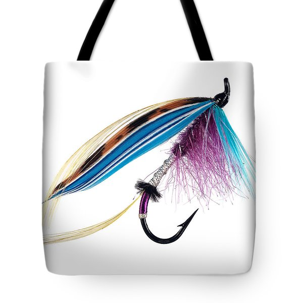 Teal And Blue Tote Bag by Mauro Celotti