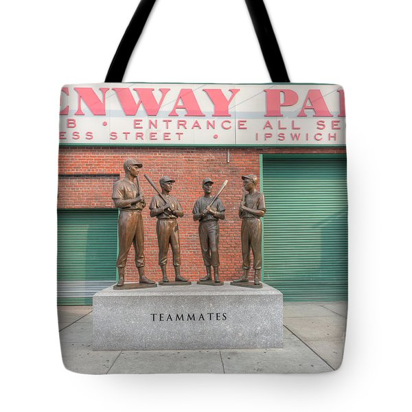 Teammates Tote Bag by Clarence Holmes
