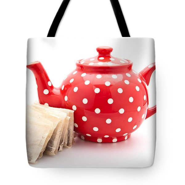 Teapot Tote Bag by Tom Gowanlock