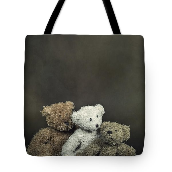 Teddy Bear Family Tote Bag by Joana Kruse