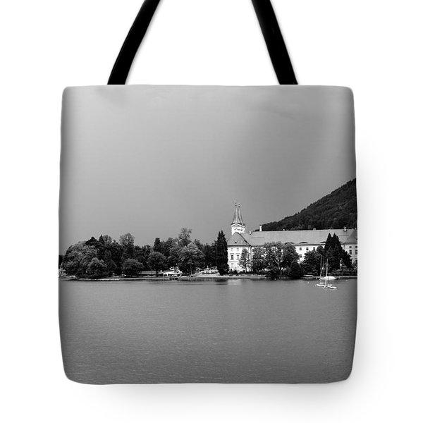 Tegernsee Tote Bag by Ralf Kaiser