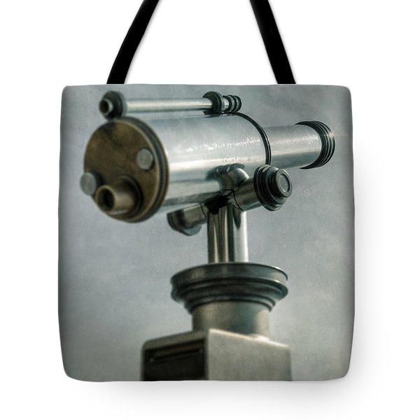 Telescope Tote Bag by Joana Kruse