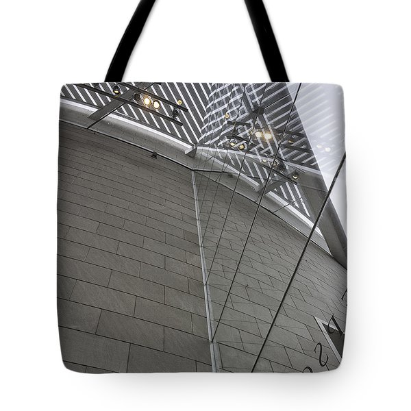 Telfair Glass And Louver Details Tote Bag by Lynn Palmer