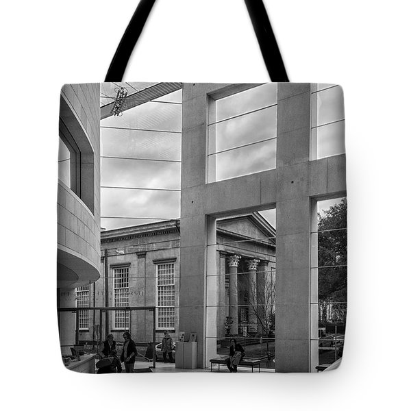 Telfair's Jepson Center Lobby Tote Bag by Lynn Palmer