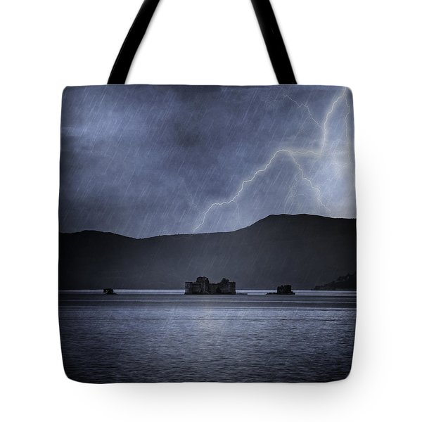 Tempest Tote Bag by Joana Kruse