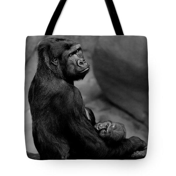 Tender Moment Tote Bag by Sebastian Musial