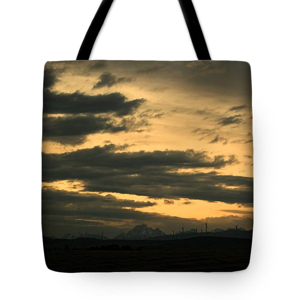 Terminous Tote Bag by James Heckt