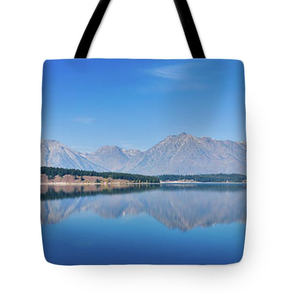 Teton Reflections Tote Bag by Greg Norrell