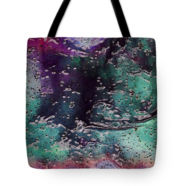 Textures Of The Heart Tote Bag by Linda Sannuti