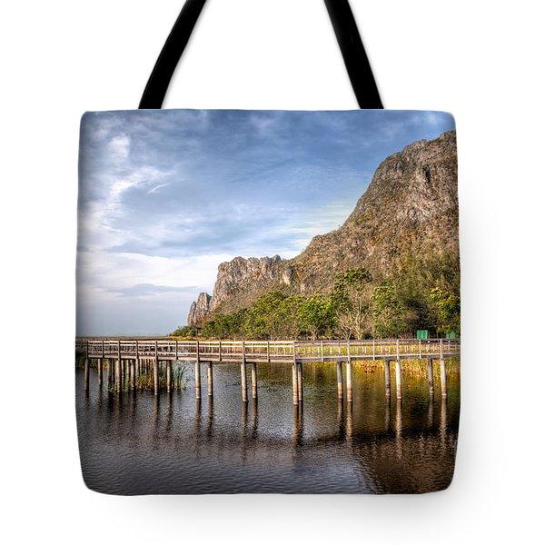 Thai Park Tote Bag by Adrian Evans
