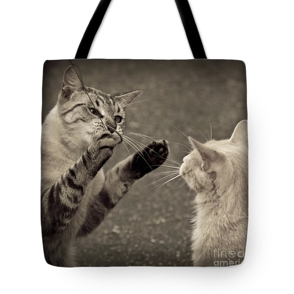 That Mouse Was This Big Tote Bag by Kim Henderson