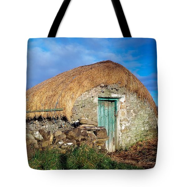 Thatched Shed, St Johns Point, Co Tote Bag by The Irish Image Collection