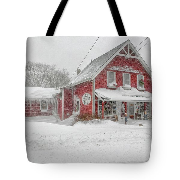The 1856 Country Store On Main Street In Centerville On Cape Cod Tote Bag by Matt Suess