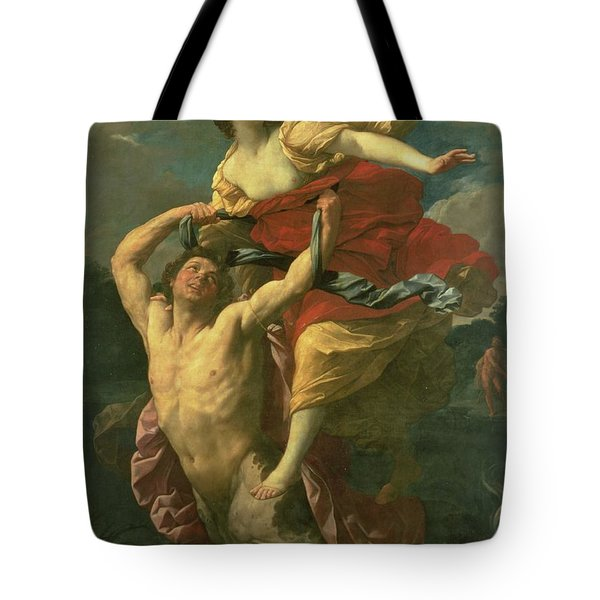 The Abduction Of Deianeira Tote Bag by  Centaur Nessus