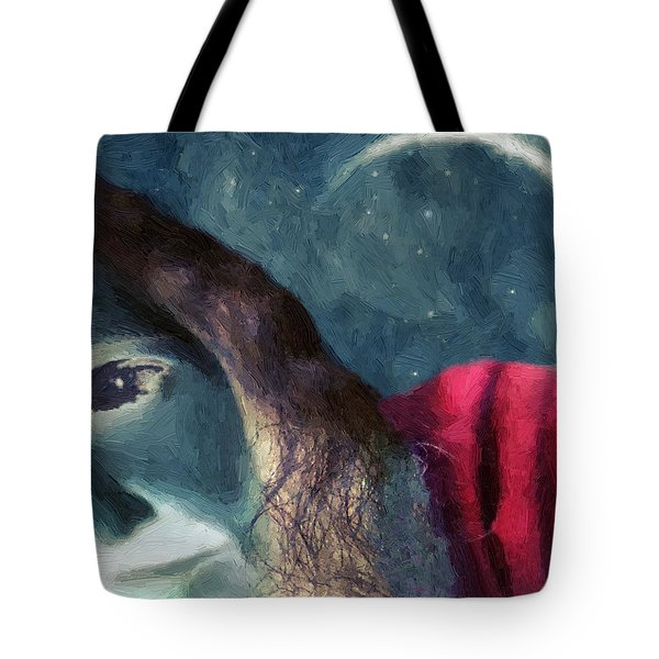 The Agony Of Saint Catherine Tote Bag by RC DeWinter