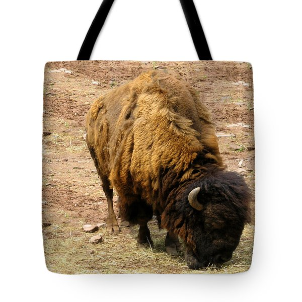 The American Buffalo Tote Bag by Bill Cannon