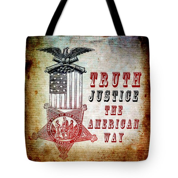 The American Way Tote Bag by Angelina Vick