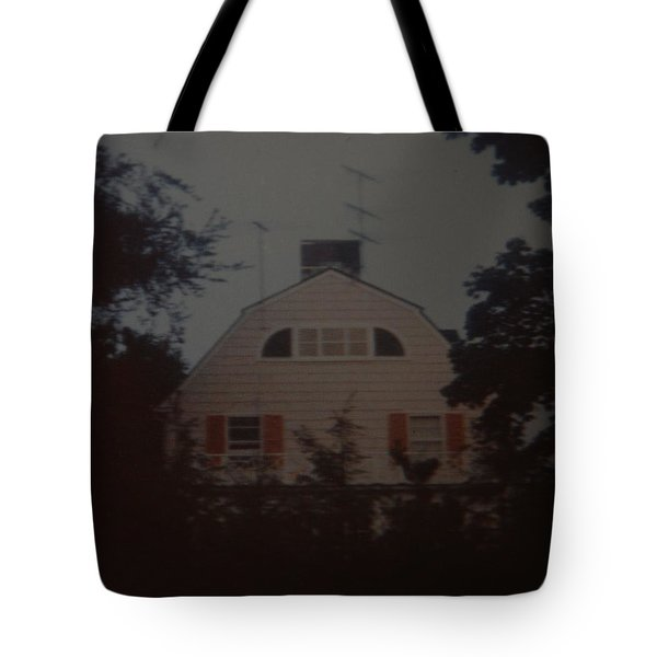 The Amityville Horror Tote Bag by Rob Hans