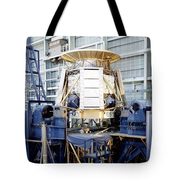The Apollo Telescope Mount Undergoing Tote Bag by Stocktrek Images