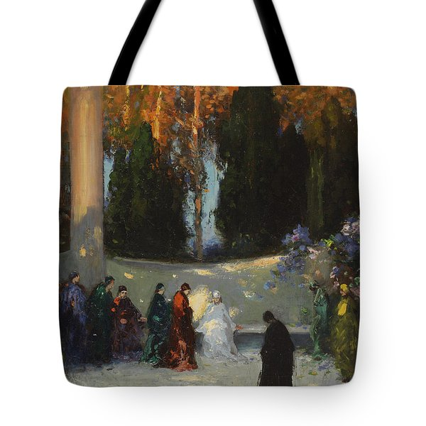 The Audience Tote Bag by TE Mostyn