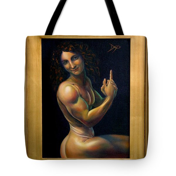 The Baptizer Tote Bag by Patrick Anthony Pierson