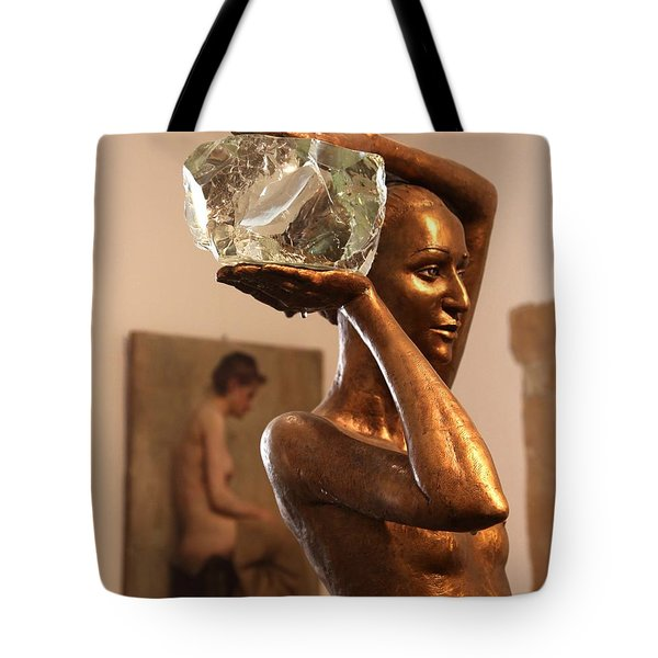 The Bather Tote Bag by Enzie Shahmiri
