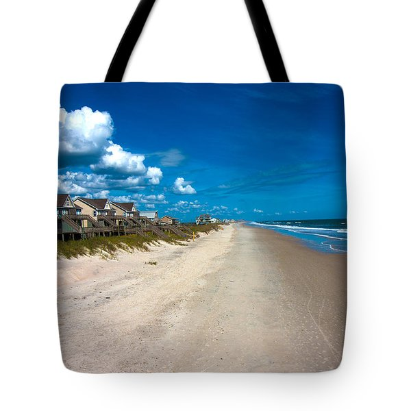 The Beach Is Yours Tote Bag by Betsy C Knapp