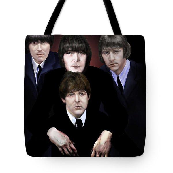The Beatles Tote Bag by Reggie Duffie