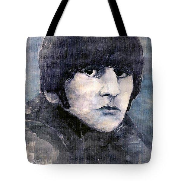 The Beatles Ringo Starr Tote Bag by Yuriy  Shevchuk
