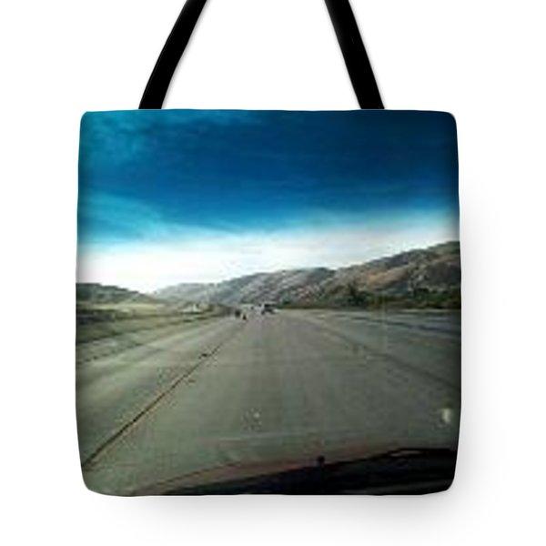 The Beauty Of Driving Tote Bag by Aleksandr Dyachuk