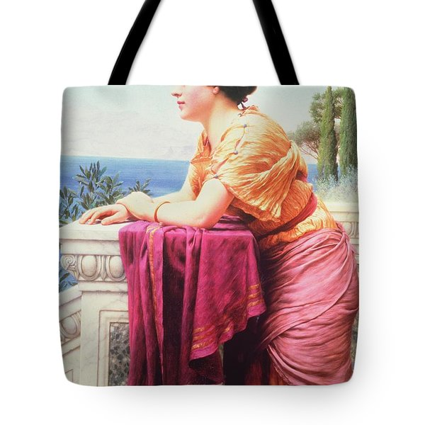 The Belvedere Tote Bag by John William Godward