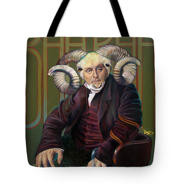 The Black Sheep Tote Bag by Patrick Anthony Pierson