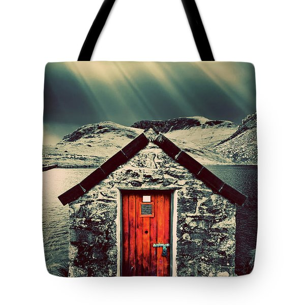 The Boathouse Tote Bag by Meirion Matthias