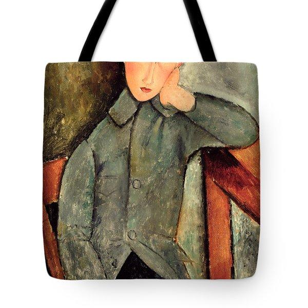 The Boy Tote Bag by Amedeo Modigliani