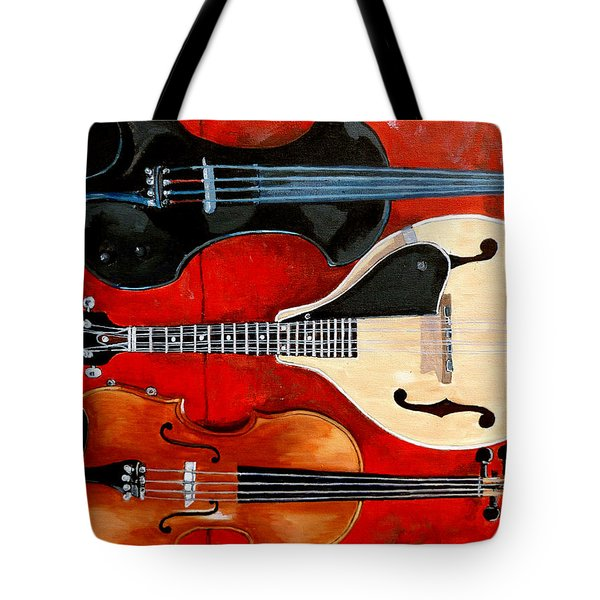 The Boys Tote Bag by Tom Roderick