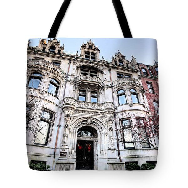 The Burrage House Tote Bag by JC Findley
