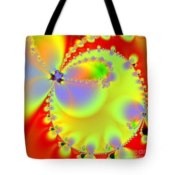 The Butterfly Effect . Summer . Square Tote Bag by Wingsdomain Art and Photography