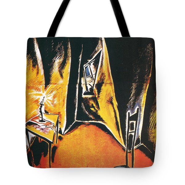 The Cabinet Of Dr Caligari Tote Bag by Georgia Fowler