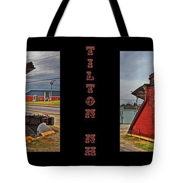 The Caboose Tote Bag by Joann Vitali