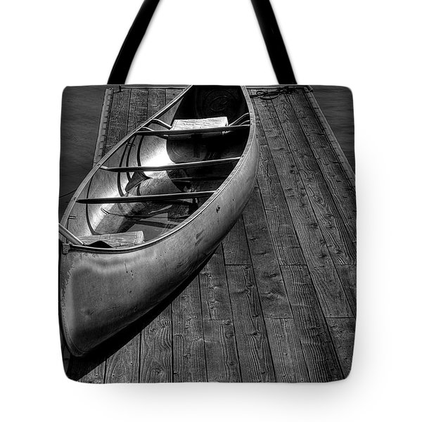 The Canoe Tote Bag by David Patterson