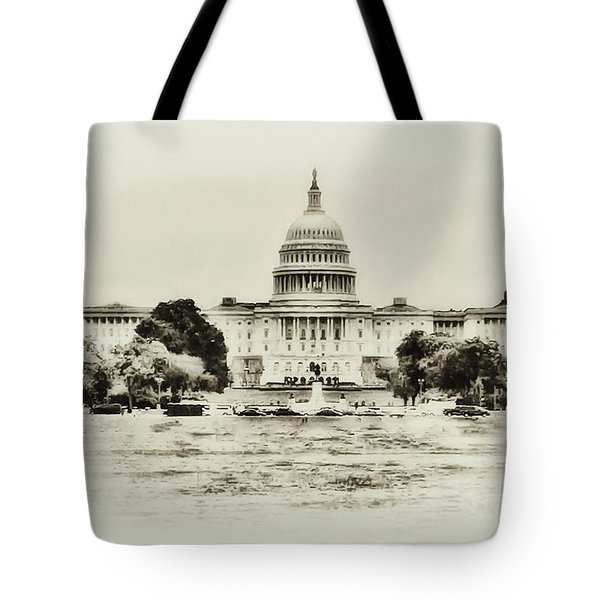 The Capital Bulding Tote Bag by Bill Cannon