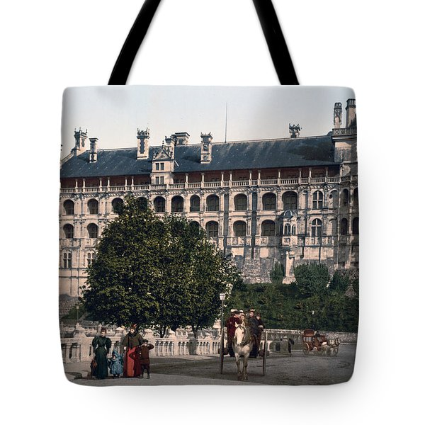 The Castle In Blois - France Tote Bag by International  Images