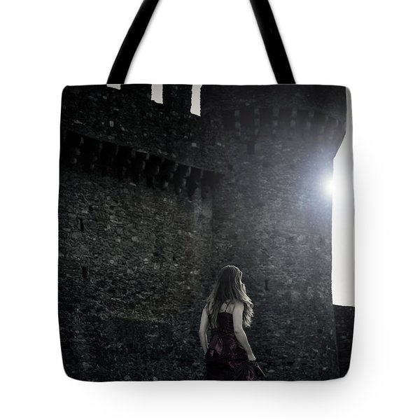 The Castle Tote Bag by Joana Kruse