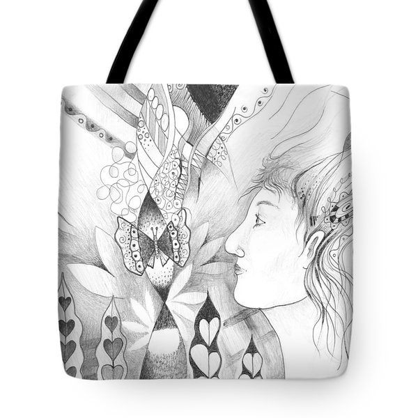 The Change And The Changing Tote Bag by Helena Tiainen