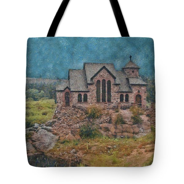 The Chapel Tote Bag by Ernie Echols