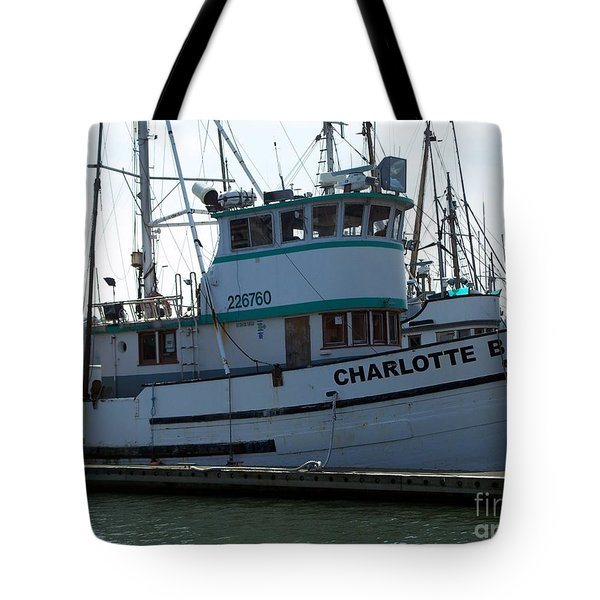 The Charlotte B Tote Bag by Chalet Roome-Rigdon